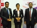 Globsyn Business School gives away Awards for Excellence in Summer Internship Projects to recognize and reward meritorious students