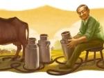 Google Doodle: Google pays homage to Verghese Kurien