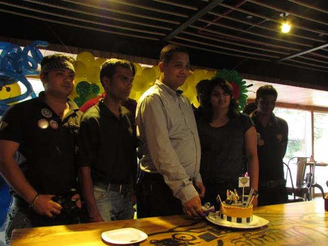 Biker's Cafe completes a year in the 'City of Joy'