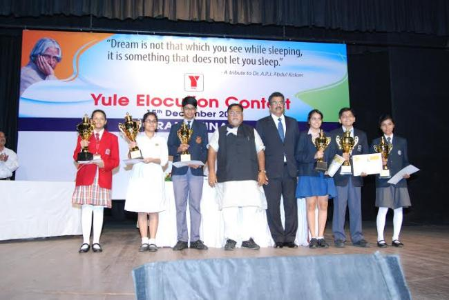Andrew Yule hosts 'Yule Elocution Contest 2015'