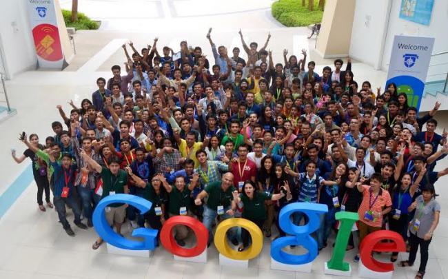 ITM University student represents at Google Student Ambassador Summit