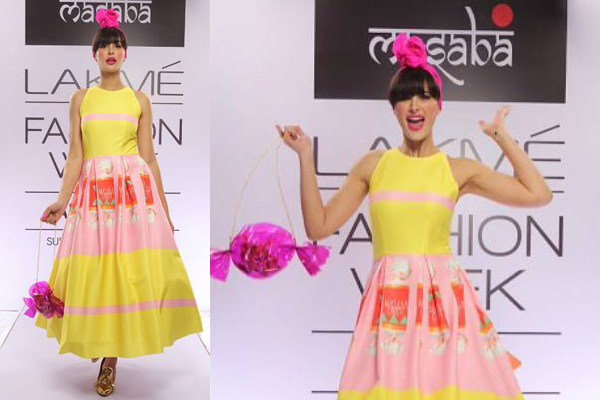 Nargis Fakhri shines at the first ever LFW Instagram show