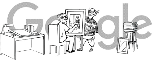 Google pays tributes to legendary cartoonist R K Laxman with doodle on birth anniversary