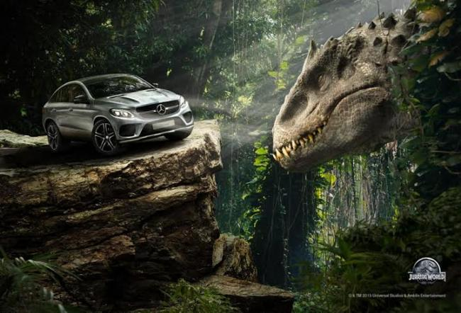 Mercedes-Benz India associates with Universal Pictures for the upcoming movie 'Jurassic World'