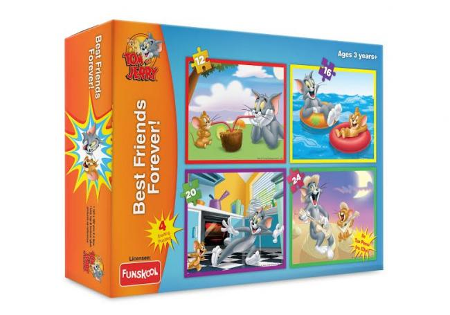 Funskool launches Tom & Jerry puzzles