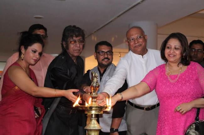 Fankaari Fossils painting exhibition unveiled in Kolkata