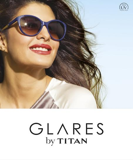 Jacqueline signed on as brand ambassador of Glares by Titan