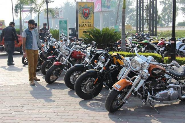 Harley owners group celebrates the 4th International Day of the Girl Child