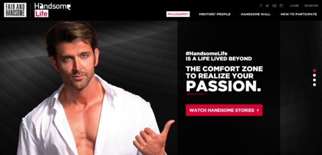 Fair and Handsome associates itself with Hrithik Roshan