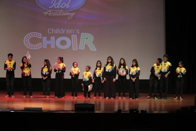 Indian Idol Academy children's choir enthralls audience with their musical concert in Kolkata