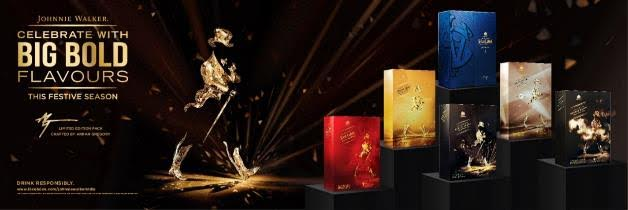 Johnnie Walker introduces  festive collection crafted by Arran Gregory