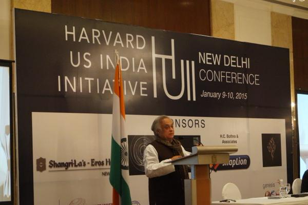 Global thought leaders and thinkers congregate at the inaugural Harvard US India Initiative Conference
