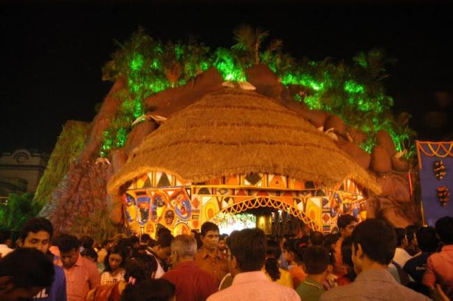 Mohammad Ali Park Durga Puja inaugurated by Governor
