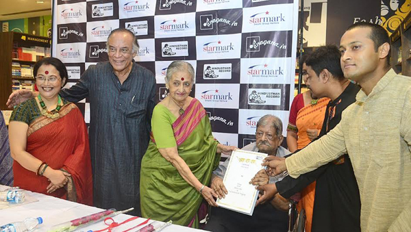 Tagore songs album on bliss and Vedic hymns released
