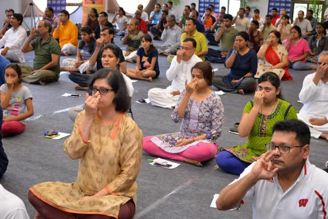 Corporates in Kolkata join rest of India on Yoga Day