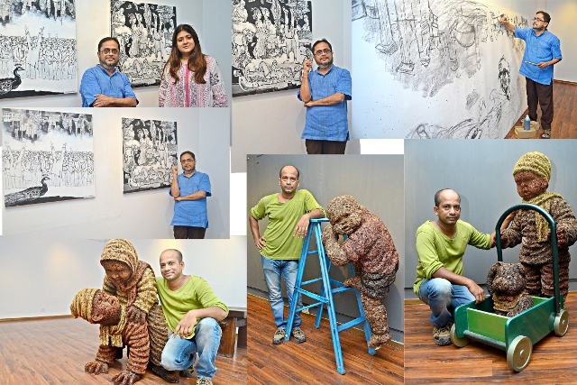 Ashoke Mullick, Nantu Behari Das come together for Gallery Sanskriti celebrations