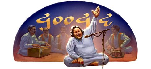 Google features legendary singer Nusrat Fateh Ali Khan on its page on birthday