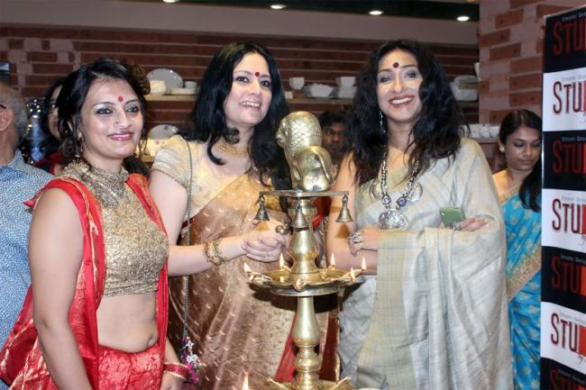 Emami Group Venture 'Studio by Starmark' inaugurated by Rituparna Sengupta, Ushasie Chakraborty , Agnimitra Paul