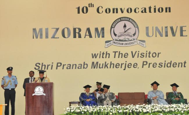 Prez urges youth of Mizoram to join in forging the future of the nation