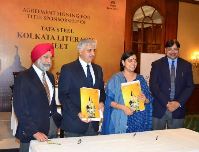 Tata Steel to be 'Title Sponsor' of Kolkata Literary Meet