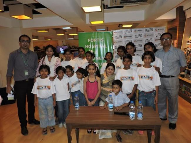Story initiates interaction on healthy lifestyle