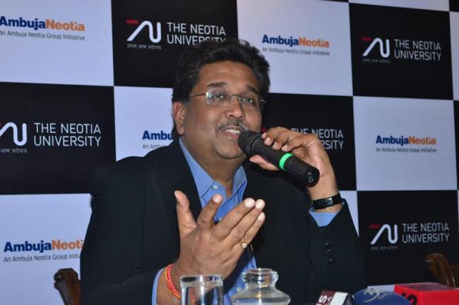 Harshavardhan Neotia announces the launch of The Neotia University