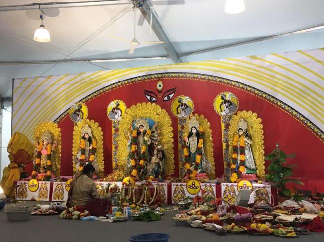 Singapore's Serangoon celebrates Durga Puja
