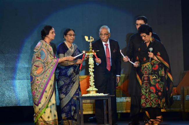 Shamlu Dudeja's Kantha Revival celebrates 30 years with a fashion show