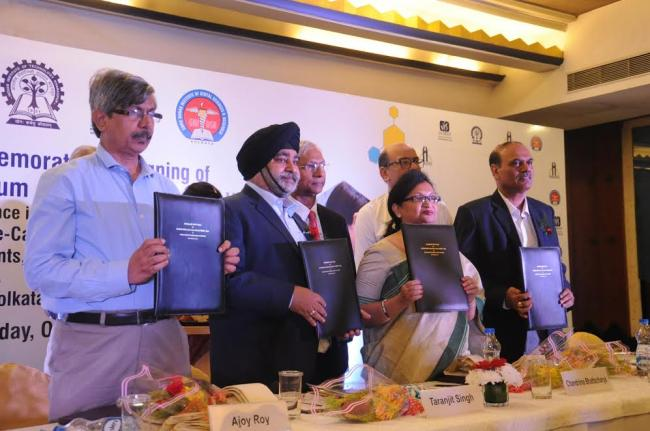 GNIDSR - Kolkata, IIT - KGP & IIEST - Shibpur sign MoU to conduct advanced interdisciplinary research in fields of oral healthcare