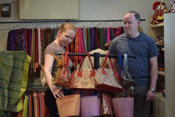 Christmas Bazaar Exhibition: Kamala invites people with wide range of gift items
