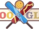 Google doodle depicts India-West Indies clash