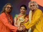 Bharat Nirman Couple Award for Tarun Bhattacharya-Sanchita Bhattacharya