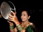 Indian women celebrate Karwa Chauth