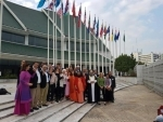Sri M speaks at the UN meet of Peace Makers at Bangkok, Thailand