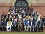 Prez attends 'Proud to be an Indian' programme with students