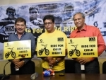 CRY launches campaign on child education, young adventurer embarks upon solo trans-Himalayan cycle ride
