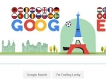 Google doodles to celebrate the start of Euro 2016
