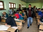Kashmir: Students appear for annual board examinations