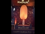 Magnum makes installation in Kolkata for Durga Puja