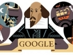 Shakespeare gets a doodle makeover