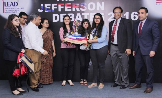 iLEAD and American Center pulls off another brilliant year of Inter-College 'Jefferson Debate'