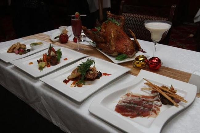 Kenilworth's Christmas menu wows all
