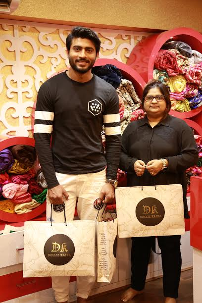 Kolkata designer Dolly Parekh launches wedding collection with actor Ravi Shaw