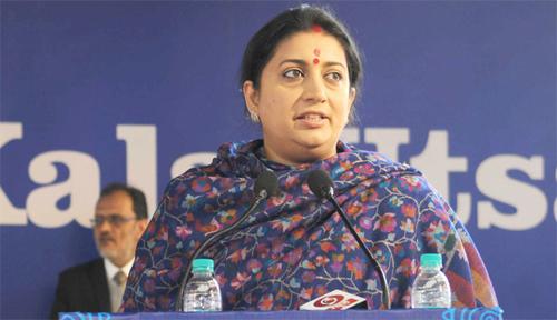 Smriti Irani asks UGC to consider Yogic Sciences for NET