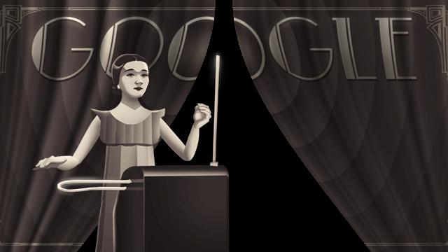 Google celebrates Clara Rockmore's 105th birthday with interactive doodle