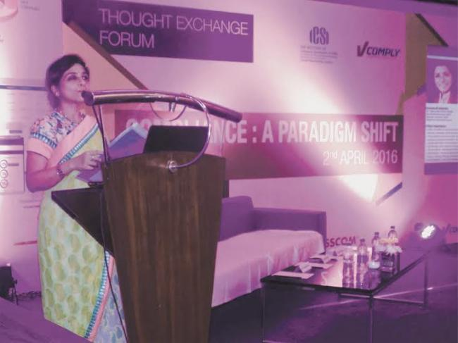 """EIRC of ICSI, Thought Exchange Forum conducts debate on """"Compliance: A Paradigm Shift' in Kolkata"""