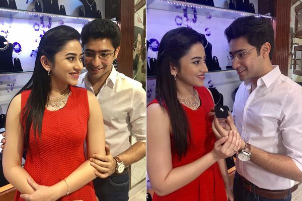 Tolly stars Gaurav and Riddhima unveil Valentine special jewellery at Senco Gold and Diamonds