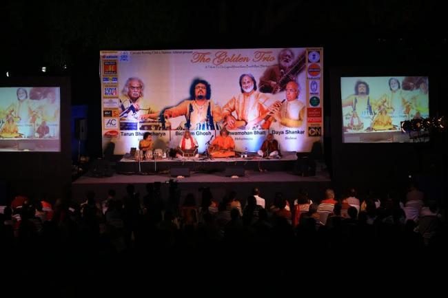 City of Joy keeps musical tryst with Indian classical maestros