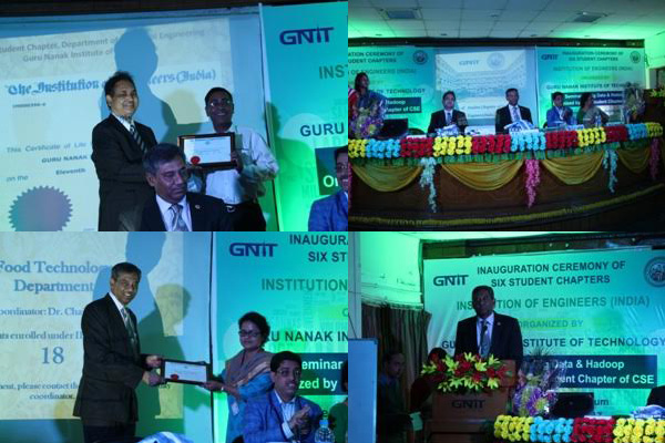 GNIT collaborate to provide BTech graduates with Chartered Engineer certificate