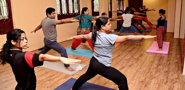 Yoga Reflects Flow Of Cultures East And West Indiablooms First Portal On Digital News Management